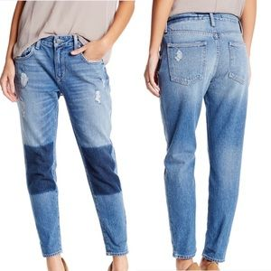 Lovers+Friends Slim Distressed Boyfriend Jean